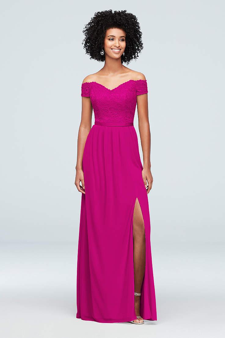 4232d7c566cfe Pink Prom Dresses: Blush, Light & Hot Pink Gowns | David's Bridal