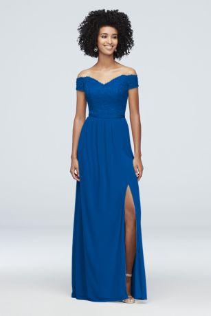 Royal Blue Bridesmaid Dresses Short Long David S Bridal