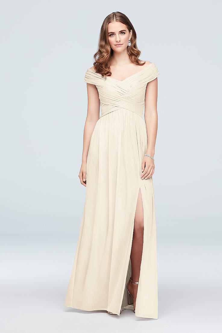 8d4e663d248a Ivory Bridesmaid Dresses - Cream & Off White Gowns | David's Bridal