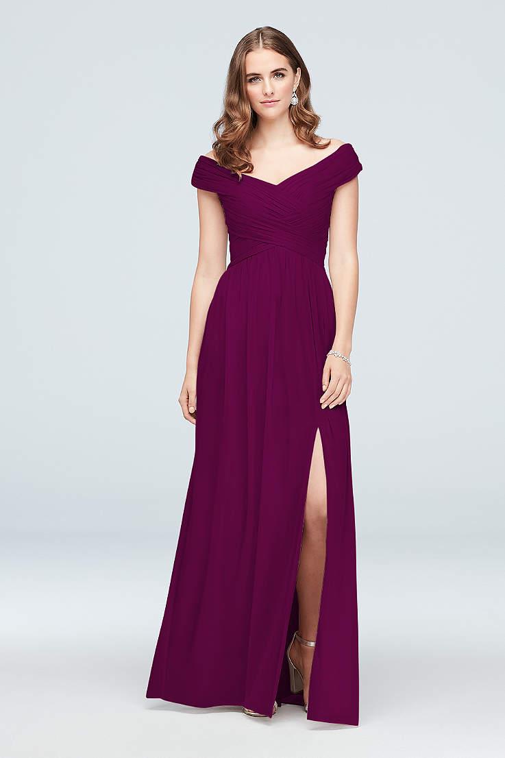 4d4ae61aaf Sangria Bridesmaid Dresses - Red, Wine Color | David's Bridal