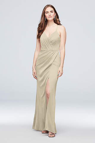 Vestido Dama De Satín