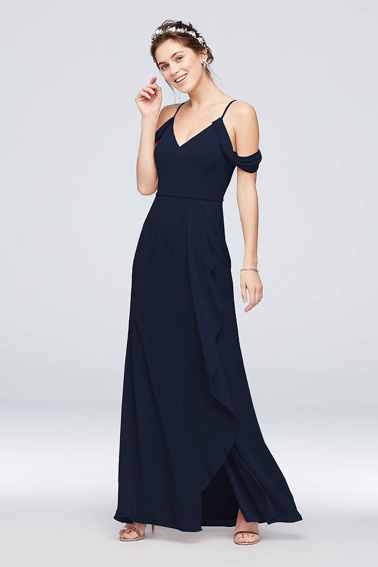 0ac82c7985 Navy Blue Bridesmaid Dresses for Weddings | David's Bridal