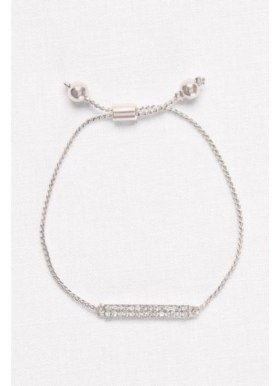 Pull Pave Bar Bracelet - Wedding Accessories