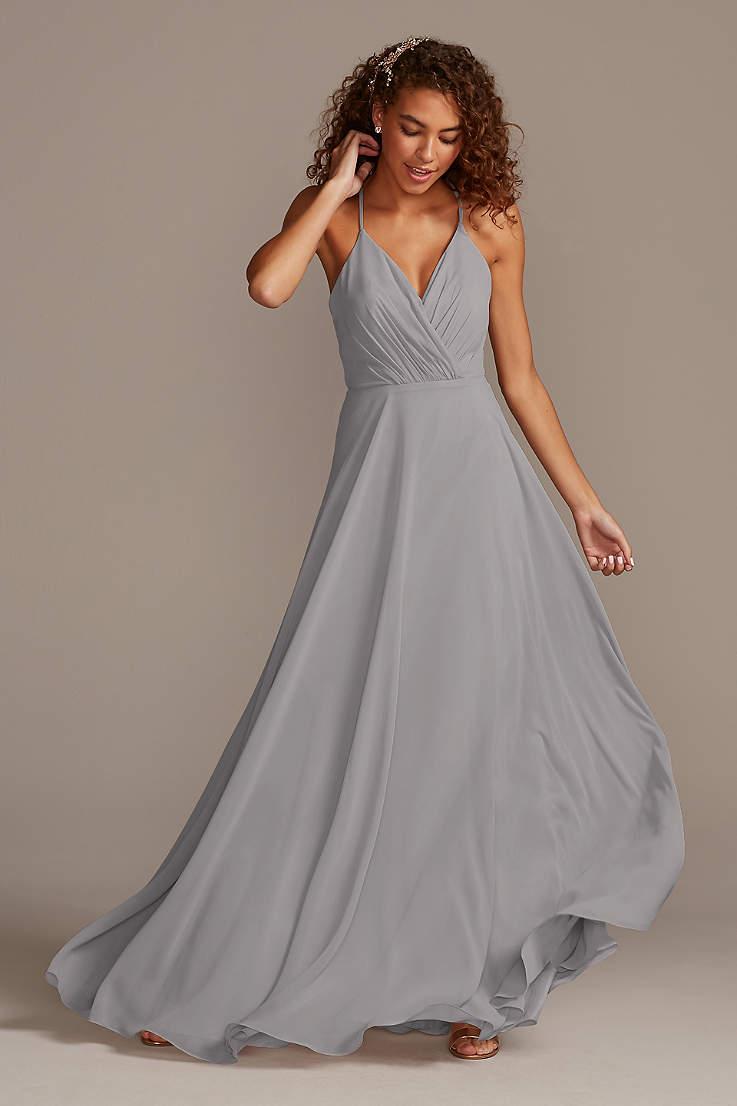 Grey Bridesmaid Dresses You Ll Love David S Bridal