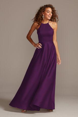 Long A-Line Sleeveless Dress - David's Bridal