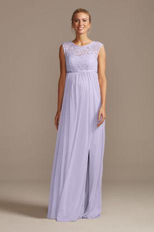 Long Sheath Sleeveless Dress - David's Bridal
