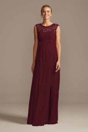 Long Sheath Sleeveless Dress - David's Bridal