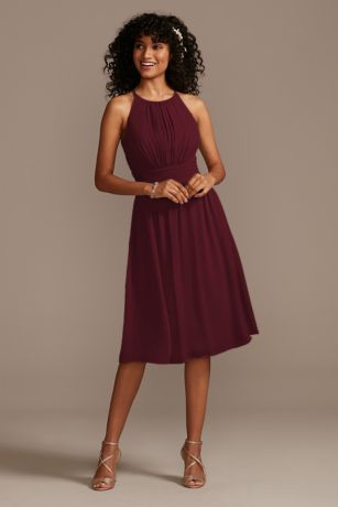 Short A-Line Sleeveless Dress - David's Bridal