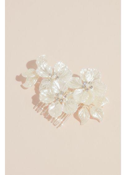Opal Petals Wedding Comb - Wedding Accessories