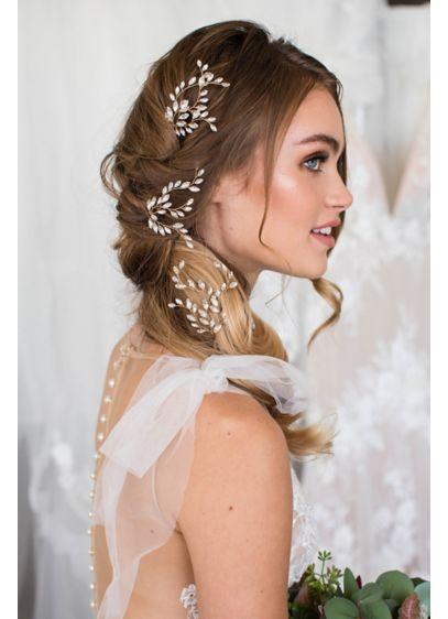 Winding Vine Swarovski Crystal Hairpin Set - Wedding Accessories