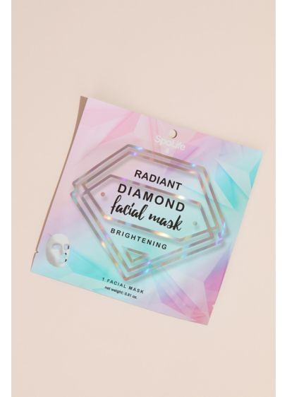Radiant Diamond Individual Facial Sheet Mask - Everyone deserves a little pampering, so treat your