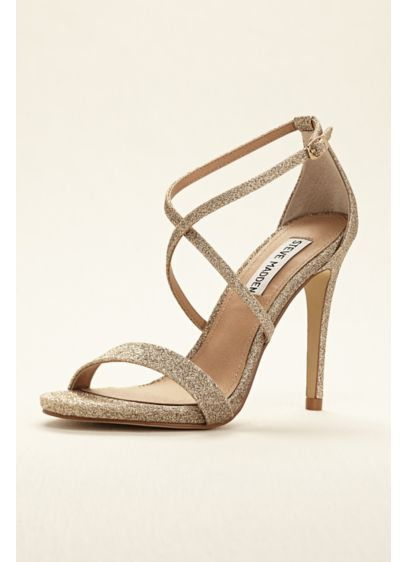 e8bf9fee21 Steve Madden High Heel Strappy Sandal | David's Bridal