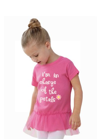 I'm In Charge of the Petals Tutu Flower Girl Tee - Wedding Gifts & Decorations