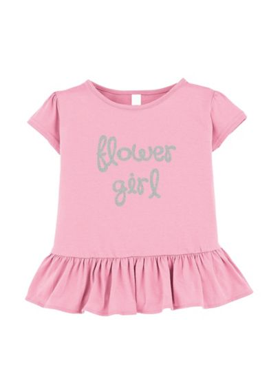 Flower Girl Ruffle Shirt - Wedding Gifts & Decorations
