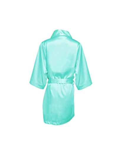 Blank Flower Girl Satin Robe - Your darling Flower Girl will feel like one