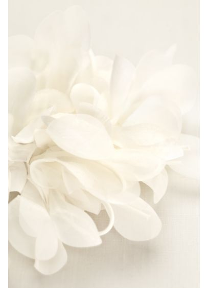 Large Organza and Chiffon 3D Flower - Wedding Accessories
