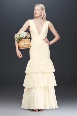 Long Sheath Tank Dress - Fame and Partners x David's Bridal