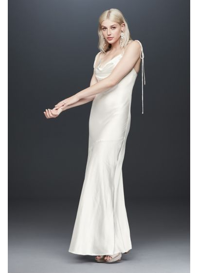 Fame and Partners Celia Charmeuse Slip Dress - Sultry and sophisticated, you'll turn heads wearing this