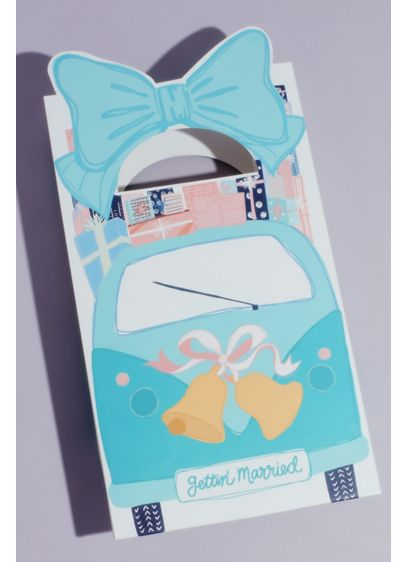 Just Married Car Gift Bag - Wedding Gifts & Decorations