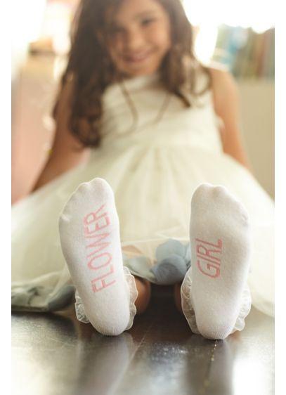 Flower Girl Ruffled Ankle Socks - Wedding Gifts & Decorations