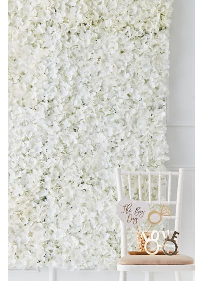 Faux Flower Wall Tile - Wedding Gifts & Decorations
