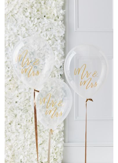 Mr and Mrs Script Balloons - Wedding Gifts & Decorations