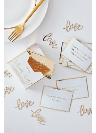 Wedding Table Trivia Game - Wedding Gifts & Decorations