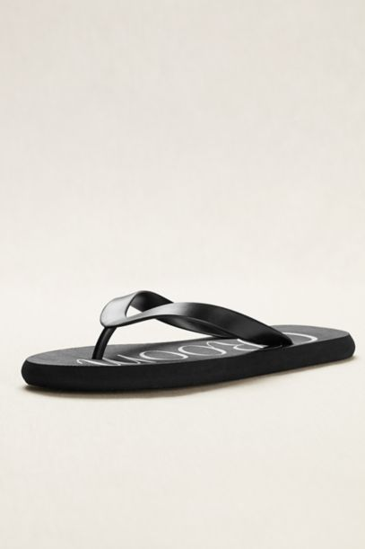 Groom Flip Flops | David's Bridal