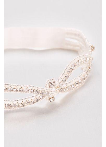 Infinity Beaded Garter - Wedding Accessories