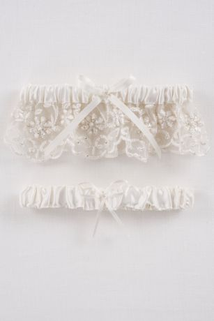 cb43cf98041 DB Exclusive Beaded Lace Garter Set