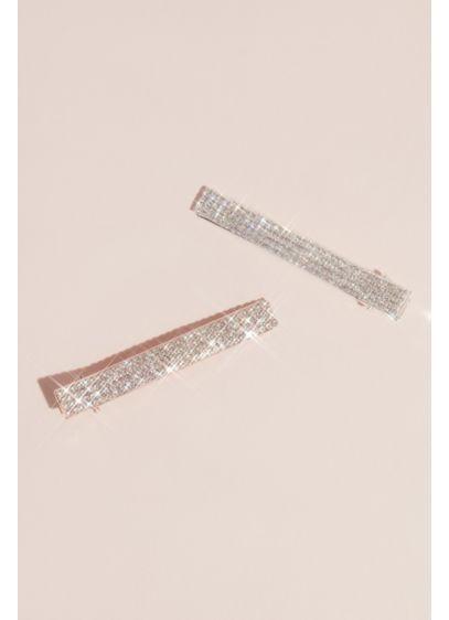 David's Bridal Multi (Shimmering Rhinestone Hair Clip Set)