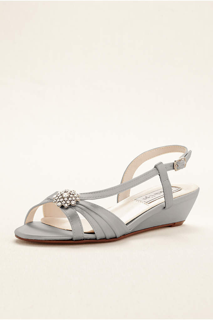 Geri Wedge Sandal by Touch Ups - The comfort and sophistication of these wedge sling