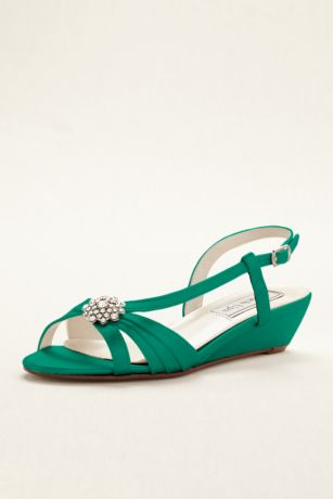 Geri Dyeable Wedge Sandal by Touch Ups