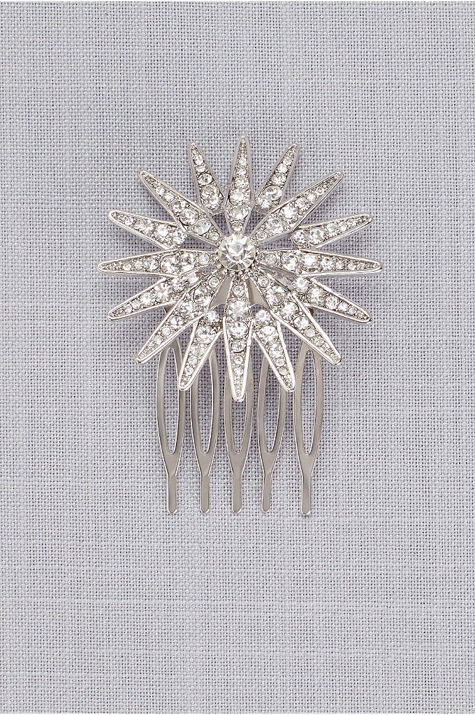 Antique Starburst Comb - Inspired by the glamour of the Roaring 20s,