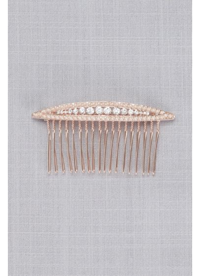 Navette Crystal Comb - Wedding Accessories