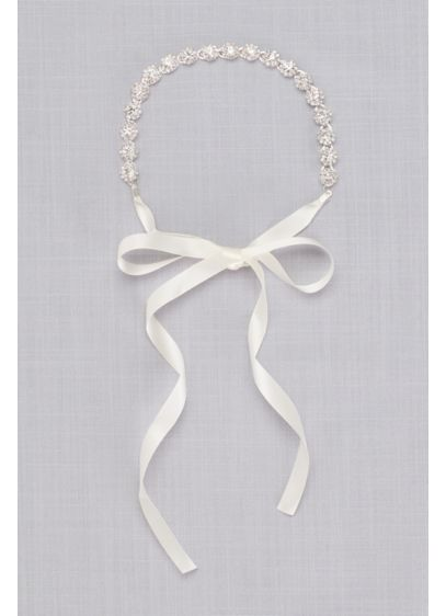Nina Grey (Crystal Halo Tie-Back Headband)
