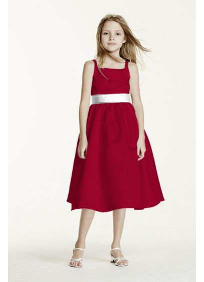 Short A-Line Spaghetti Strap Dress -