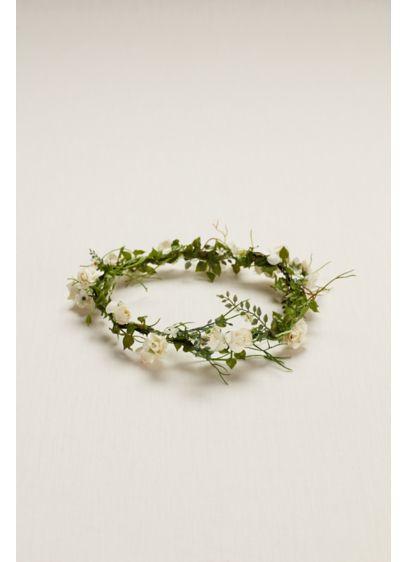 Flower Girl Flower Crown - Wedding Accessories
