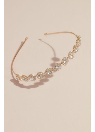 Crystal Halo Floral Headband - Wedding Accessories