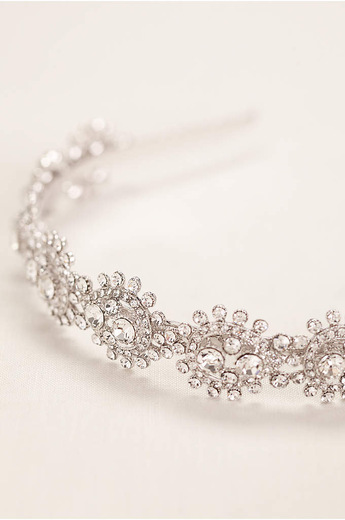 Pear Shaped Crystal Headband
