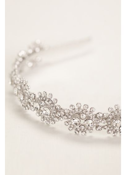 Pear Shaped Crystal Headband - Wedding Accessories