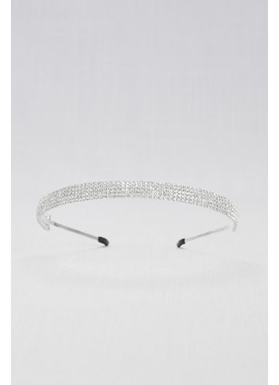 Crystal Rows Headband - Wedding Accessories