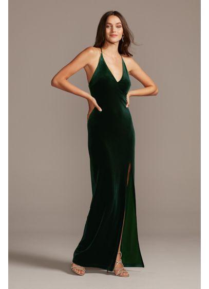 Long Sheath Spaghetti Strap Formal Dresses Dress - Teeze Me