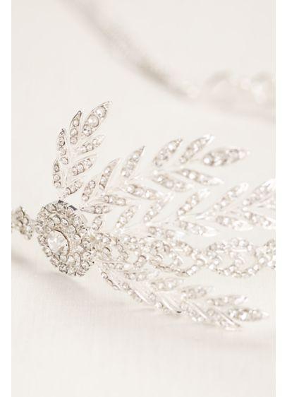 Crystal Chain Fringe Headband - Wedding Accessories