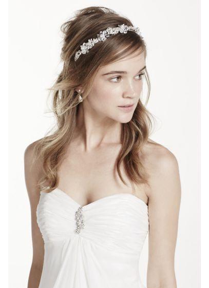 Crystal Floral Headband - Wedding Accessories