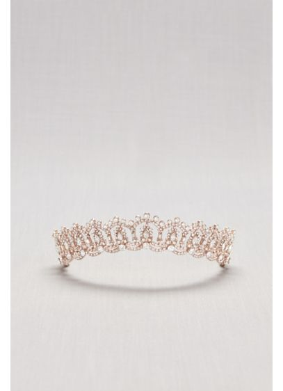 David's Bridal Pink (Crystal Princess Tiara)