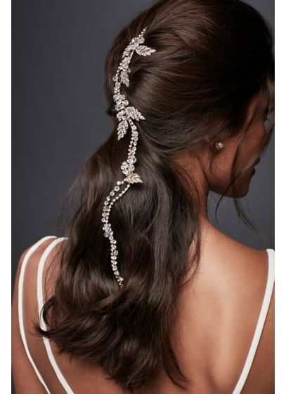 Flexible Crystal Hair Vine - Wedding Accessories