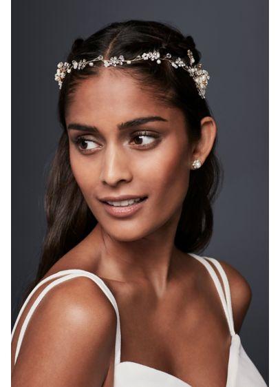 Crystal Baby's Breath Hair Vine - Wedding Accessories