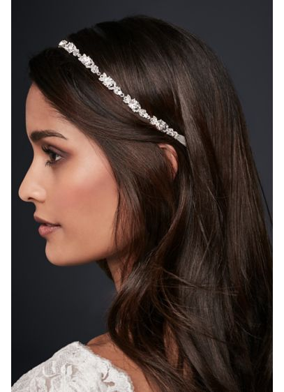 Linked Crystal Headband - Wedding Accessories