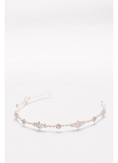 David's Bridal Pink (Crystal Cluster Headband)